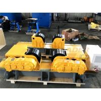 Quality 30 Ton Bolt Shift Adjustment Self Centering Welding Rotator Inverter Control for sale
