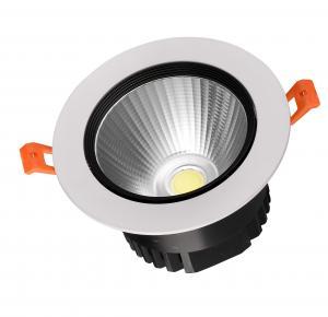 65~80lm/w 12w COB LED Downlight