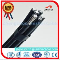 Quality 4 * 50mm Overhead Electrical Cable , Quaduplex Pvc Sheathed Cable For Power Line for sale