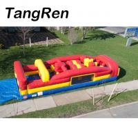 Quality Outdoor commercial inflatable kids obstacle course equipment for exercise for sale