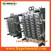 PET mould with hot runner