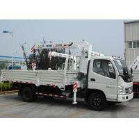 Quality Durable 3.2 Ton Lifting Telescoping Boom Truck Mounted Crane , 6.72 T.M for sale