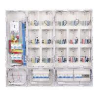 China Large 15 Way Single Phase Meter Box Outdoor Plastic Electric Meter Enclosure on sale