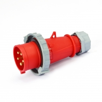 Buy cheap Anti Corrosion 400V IP44 16A 4P Waterproof Industrial Plugs from wholesalers