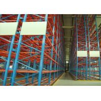 Quality 3000kg VNA Pallet Racking narrow aisle racking With Araldite Static Powder Coating for sale