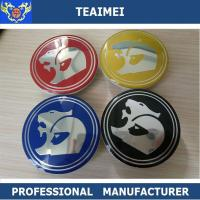 Best Customized Colorful Hsv 63mm Car Wheel Center Caps / Auto Names And Logos wholesale
