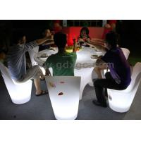 Best Banquet Led Illuminated hotel dinner table RGB Color with IR Remote Control wholesale