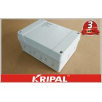 Quality Waterproof Outdoor Junction Box IP55 / IP66 , Cable Terminal Junction Box For Lighting for sale