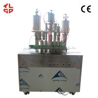 China Automatic Car Windows Spray Filling Machine , Aerosol Can Filling System on sale