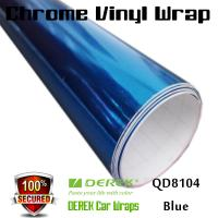 Quality Chrome Mirror Car Wrapping Vinyl Film 3 layers - Chrome Blue for sale