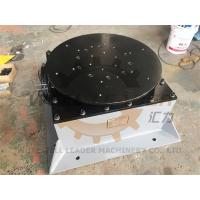 Quality Floor Welding Positioner Turntable Unlimited Rotation 400kg Load 800mm Round Table for sale