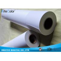Quality Outdoor 5760 DPI Inkjet Printing Photo Paper Matte Finish Continuous Loading for sale