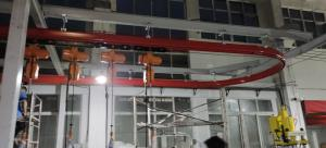 Quality Finework Flexible Rail  Rigid Structure 2t KBK Light Standard Crane for sale