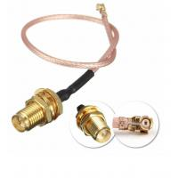 Quality DC To 6GHz Coaxial Cable Connectors , RG316 Waterproof Sma Connector for sale