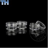 Quality Empty Clear Plastic Jars , Plastic Cosmetic Containers With Lids 3 / 5 / 10g for sale