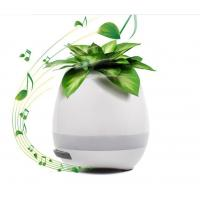 Best 2017 Trending Product For Christmas Gift Music Flower Pots Wholesale With LED Light And Bluetooth wholesale
