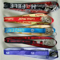 Quality 1 inch woven jacquard id badge ribbons wholesale, custom polyester woven lanyards, for sale