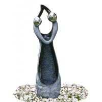 Quality Stone Color Statue Water Fountains , Decorative Garden Fountains For House for sale
