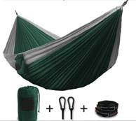 China Outdoor double parachute hammock nylon in high quality traveling camping hammock Nylon on sale