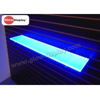 Quality LED light up edge lit color changing floating wall shelves for sale