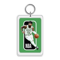 Quality 3.7x5.7cm 3D Lenticular Printing Service For Gifts / Acrylic Keychain With NBA Star for sale