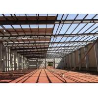 Quality Prefabricated Industrial Steel Structure Warehouse Gable Frame Light Metal Building for sale