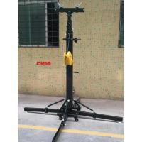 Buy cheap Crank Handle Heavy Duty Light Stand / Speaker Truss Lift Stand Telescopic from wholesalers