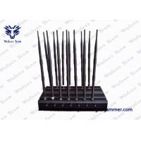 China 14 Antennas Powerful All Bands Mobile Phone Signal Jammer, Remote Control Cell Phone Signal Jammer on sale