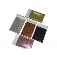 China Metallic Bubble Bulk Poly Mailers , Mailing Postal Bag For Security Shipping on sale
