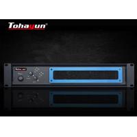 China Two Channel Audio Power Amplifier For Conference Room / Multipurpose Lecture Hall on sale