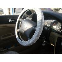 Quality steering wheel cover, car seat cover, disposable cover, pe car foot mat, gear cover, auto, Protective automobile product for sale