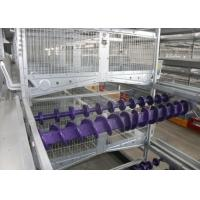 Quality 8 Tiers Poultry Farm Feeding System Smooth Surface Save Energy Consumption for sale