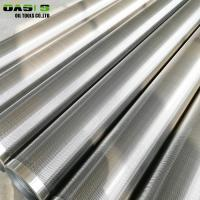 Quality 6 5 / 8 '' Screen Casing Pipe , Point Pipe Screen With Plain / Thread Connection End for sale
