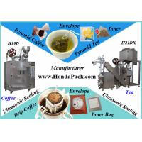 Quality Ultrasonic Pyramid Tea Bag Packing Machine with outer Envelope with full line for sale
