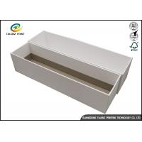 Buy White Cardboard Jewelry Gift Boxes , Paper Packaging Cardboard Shoe Boxes at wholesale prices