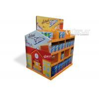 Best Large Scale Corrugated Cardboard Pallet Display For Milk / Snacks Retailing wholesale