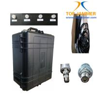 Buy cheap 4 Bands Low Frequency 20-500MHz VIP Portable Jammer,100W High Power Luggage from wholesalers
