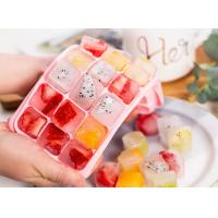Quality Food Grade Silicone Rubber Ice Cube Trays With Silicone Cover Easy Release for sale