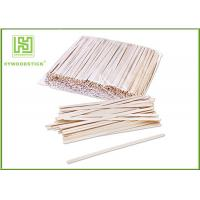 Best Grade A Short Wooden Coffee Stirrer Sticks For Vending Machine Non Toxins wholesale