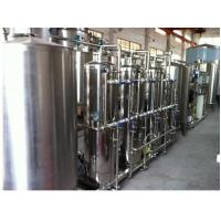 Quality 1-50 Ton Per Hour Automatic Pure Water Treatment System / Equipment For Beverage for sale
