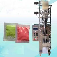 Quality Coffee / Milk Powder Sachet Packaging Machine 220V Voltage SS Material for sale
