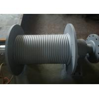 Quality SS355 Material Grooved Winch Drum , Wire Rope Hoist Drum Design Customized for sale