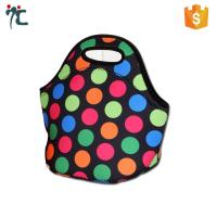 Quality wholesale polyester neoprene insulated waterproof bento fitness lunch picnic tote bag for sale