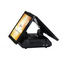 Buy cheap Sensitive Touch Screen 2 Touch POS System 4G Intel Celeron 1037U 1.8 GHz CPU from wholesalers