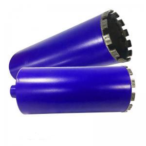 Quality 51mm 76mm 1 1/4 UNC Crown Barrel Diamond Drill Bit For Reinforced Concrete for sale
