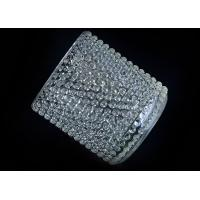 Quality home deco Custom nail glass candle holders for sale