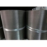 Quality Long Security Wire Mesh Belt , Stainless Steel Flat Wire Conveyor Belt for sale