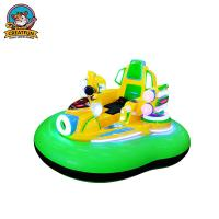 Quality Inflatable Amusement Park Bumper Cars With Remote Control / Manual Operation for sale