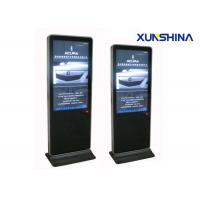 China LCD Touch Screen Digital Signage Totem , 3G WIFI Interactive Touchscreen Display on sale