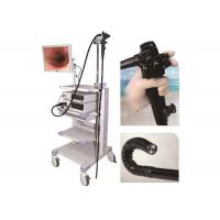 China 1630mm Video Colonoscopy Endoscopy , LED Cold Light Medical Endoscope With Monitor on sale